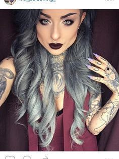 Super pretty , love all her tattoos cdeval