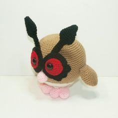 amigurumi pokemon hoothoot - Buscar con Google