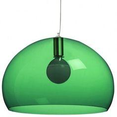 Color Esmeralda - Emerald Green!!! Pendant Lamp