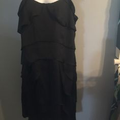 Charcoal gray black dress Charco grey black cocktail dress Dresses