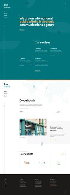 Landmark homepage v1 full by dogstudio