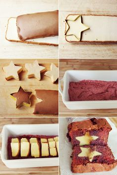 Bread or maybe cake with a surprise inside. Stars for your star themed party, 4th of July, twinkle twinkle little star baby shower