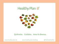 Quiérete. Cuídate. Ama lo Bueno. Dale lo mejor a tu cuerpo, seguro tu alma se sentirá felíz viviendo ahí.  #Saludable #BuenosHabitos #HealthyOptions Visita: healthy-plan.de/blog  #ViveSano