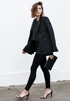 Introducing @kaitymodern in Seriously Black: The ultimate fade resistant #LittleBlackJean.