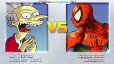 Spider-Man & Blossom The Powerpuff Girl VS Vampire Burns & Master Hand In A MUGEN Match / Battle This video showcases Gameplay of Spider-Man The Superhero And Blossom The Powerpuff Girl From The Powerpuff Girls Series VS Vampire Burns And Master Hand From The Super Smash Bros. Series In A MUGEN Match / Battle / Fight