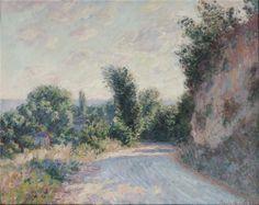 Road near Giverny, 1885