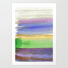 Painterly Stripes 6 by Marianna Shomero