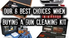 8 Best Choices When Buying A Gun Cleaning Kit | Survival skills, survival guns, survival guide