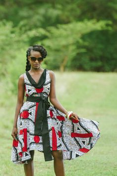Zambian label Kamanga Wear...love the dress I bought in this style...well cut and fits in all the right places