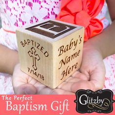 Printing Education For Kids Printer Announcement With Dog Pictures Info: 6415244518 Catholic Baptism Gifts, Baptism Gifts For Girls, Baby Baptism, Christening Gifts, Baby Girl Gifts, Baptism Ideas, Godparent Gifts, Adoption Day, Birth Announcement Girl