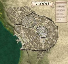 Tal'Dorei, capital city of Emon