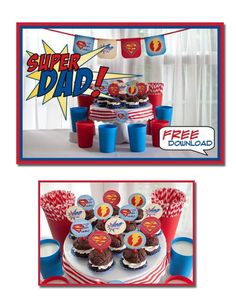 It's Written on the Wall: Father's Day Party - Super Dad Father's Day Collection-Day 2