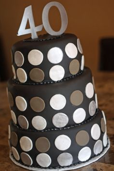 Masculine Birthday Cakes | cakes I made this weekend. This was for a VIP themed 40th birthday ...