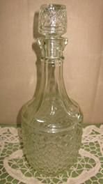Vintage Decanter (with stopper) I have three of this style