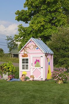 Little Cottage Company Playhouses Wooden Sweetbriar Cottage Outdoor Playhouse, Price: $799.00