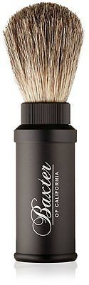 Shaving Brushes and Mugs: Baxter Of California Men S Aluminum Travel Shave Brush -> BUY IT NOW ONLY: $44.95 on eBay!