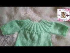 Crochet Baby Sweaters, Baby Knitting, Knit Crochet, Baby Barbie, Crochet Mandala, Knitting Videos, Reborn Babies, Vintage Dolls, Baby Knits