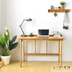 [New] The Best Home Decor (with Pictures) These are the 10 best home decor today. According to home decor experts, the 10 all-time best home decor. Decor Interior Design, Interior Decorating, Working Area, Wood Table, Home Art, Home Goods, Desk, Box, House