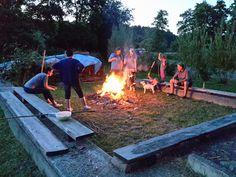 9.7.2016 - Sommerfest  Lagerfeuerromantik kommt auf