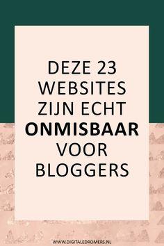 Wanneer je wilt dat je blog een succes wordt, is het belangrijk dat je de juiste tools gebruikt. Deze 23 websites zijn onmisbaar voor bloggers.