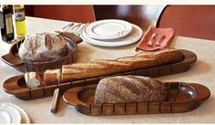 Cross-Cut Artisan Bread Slicers - eclectic - boning knives - other metro - Napa Style