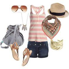 Summer Fun, created by kaylyn-corbin on Polyvore