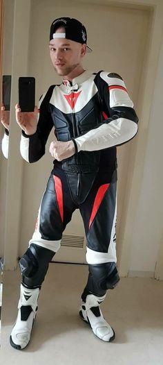 "punkerskinhead: ""great looking leather biker suit """