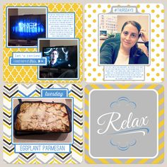 Project Life week 46 left side | Marmalade Mementos