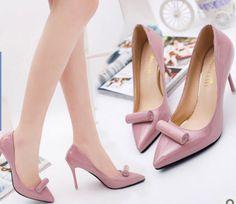 A024-PK SIZE 35-39, HEELS-9.5 Wholesale Shoes, Pumps, Heels, Fashion, Heel, Moda, Fashion Styles, Pumps Heels, Pump Shoes