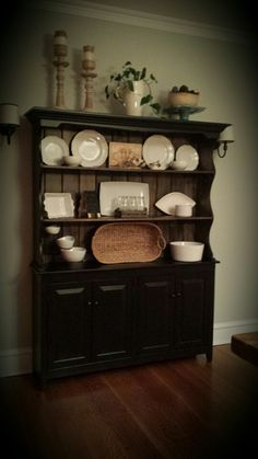 My Amish hutch great addition to my dining room