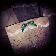 Green Bow. #merry christmas #giftwrapping #done - @whosaysitsme- #webstagram