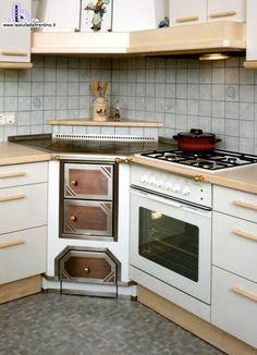 Risultati immagini per cucina in muratura ad angolo