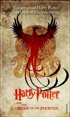 Harry Potter And The Order Of The Phoenix Poster....