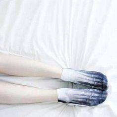 socks skeleton white blue creepy spooky short pale light dark black bones cute sweet funny girl pretty asos
