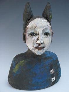 bust: alasdair neil & sally, contemporary ceramics in bath, england