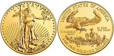 2013 American Gold Eagle   #bullion #bullioncoins #coins #coincollecting #preciousmetals #bullioncoin #collectiblecoins #gold #goldcoin #goldcoins #goldbullion Bullion Coins, Gold Bullion, Gold Eagle Coins, Gold Coins, Bullion Embroidery, Silver Investing, Gold American Eagle, Buy Gold And Silver, Mint Coins