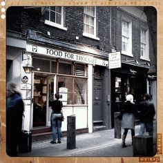 Favourite London Restaurant - Food for Thought in Covent Garden <3