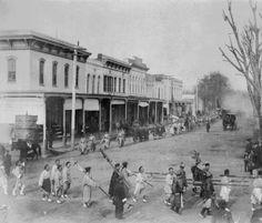 Chinese Parade, Main Street, Chico, California, 1894.