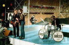 Cream Publicity Photograph - Ready Steady Go Appearance September 1966 (Where's Eric! Archive)
