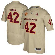 Men s adidas Pat Tillman Tan Arizona State Sun Devils Special Games Jersey 5b59f402a