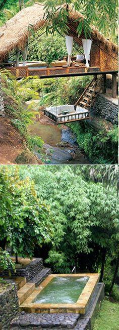 #Panchoran_Retreat #Ubud, #Bali #Indonesia http://en.directrooms.com/hotels/district/1-13-64-222/