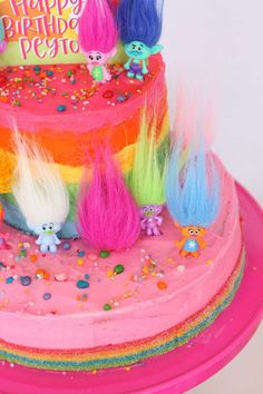 Trolls Birthday Party Ideas | Photo 1 of 28