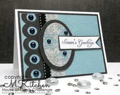 Faux Quilted Season's Greeting by stamping_mynn - Cards and Paper Crafts at Splitcoaststampers