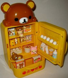 So cute. So cute! So much Rilakkuma! Rilakkuma, Kawaii Room, Kawaii Accessories, Cute Room Decor, Paper Crafts, Diy Crafts, Cute Toys, Miniture Things, Kawaii Cute
