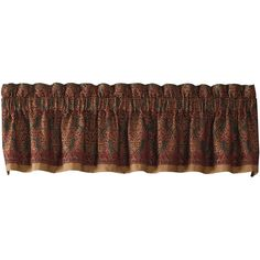 Croscill Classics Salerno Jacquard Tailored Valance (€35) ❤ liked on Polyvore featuring home, home decor, window treatments, curtains, patterned curtain panels, jacquard valance, polyester curtains, croscill curtains and patterned curtains