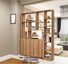 Partisi Minimalis Terbaru atau Pembatas Ruangan Terbuat dari Kayu Mahoni dengan Model Minimalis yang sangat cocok Buat Hunian Minimalis Mewah