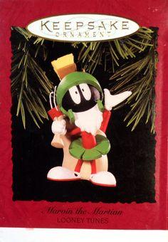 Hallmark ornament. Marvin the Martian. Looney tunes. 1996