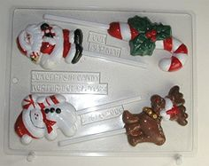 Christmas Assortment Lollipops  Christmas Candy Mold  C158 >>> Find out more about the great product at the image link.(This is an Amazon affiliate link and I receive a commission for the sales)