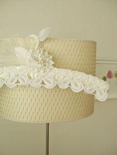 Wedding Dress Hanger  With Vintage Handcrocheted by WHITEStardust, $32.00