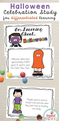 Halloween celebration study for elementary children. Perfect to use for an around the world cultural unit, an international day, an international festival, a social studies unit, a cultural school project, a geography project, a cultural day, a cultural fair, a field day, or a multicultural day. #halloween #celebration #worksheets #tpt #idea